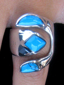 turquise Adjustable Ring